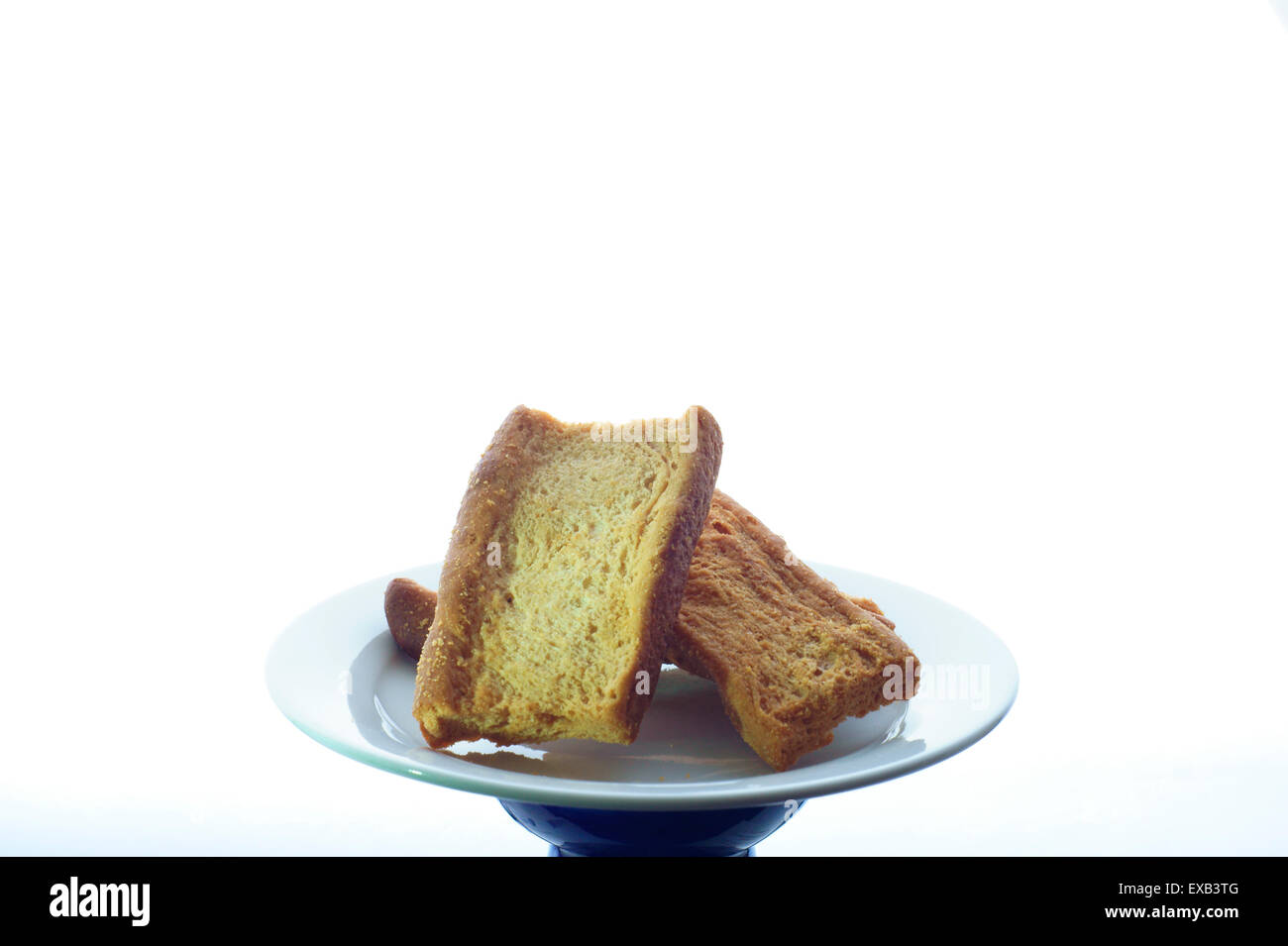 Toast biscuits - Stock Image