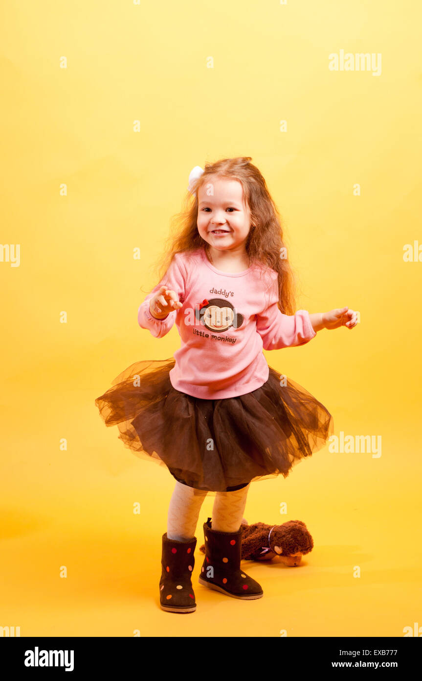 Little Girl Dancing Stock Photos Amp Little Girl Dancing