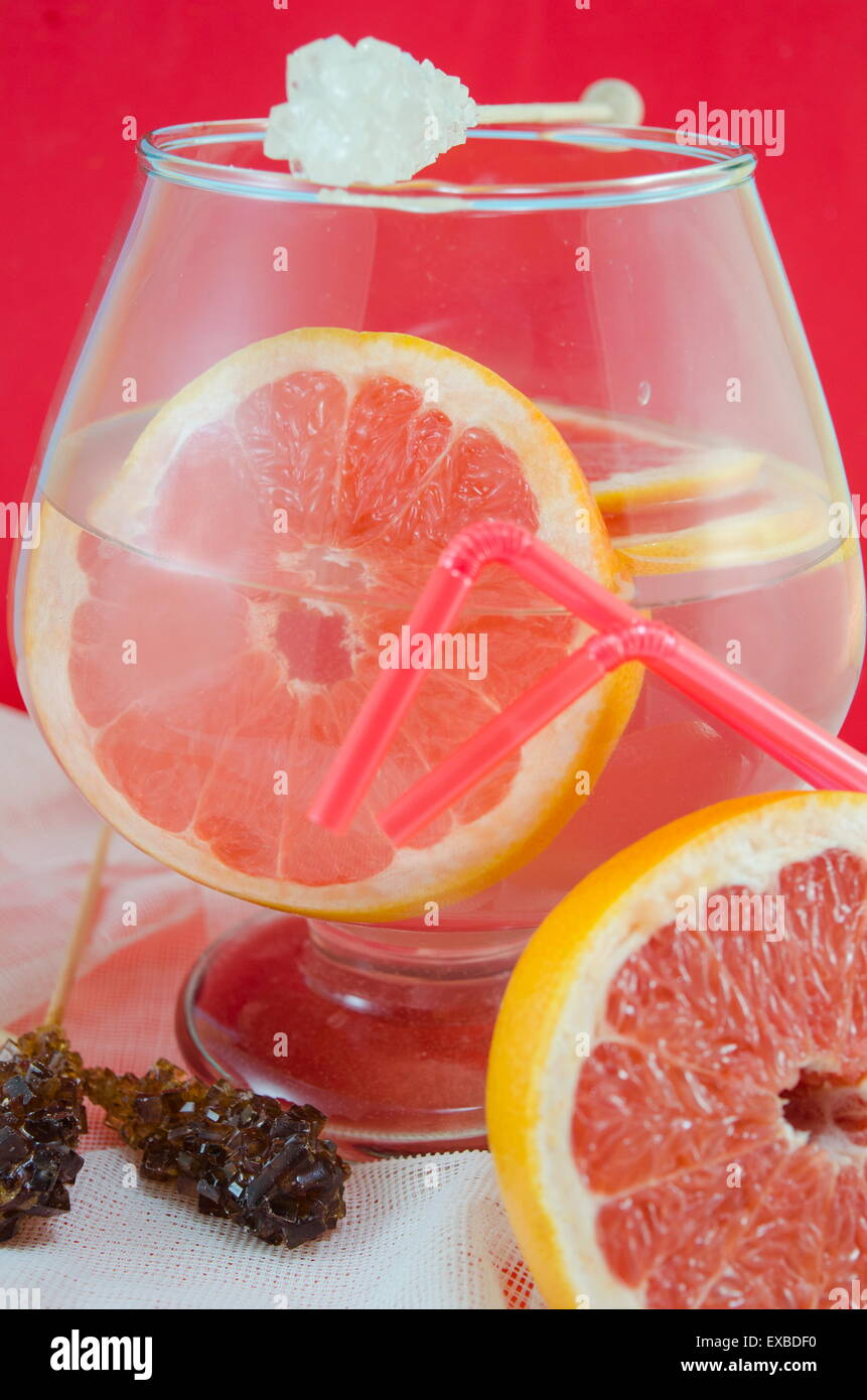 Measuring stick stock photos measuring stick stock images page 6 dietary fruit cocktail of grapefruit and lemon juice in a jar with white sugar stick malvernweather Images