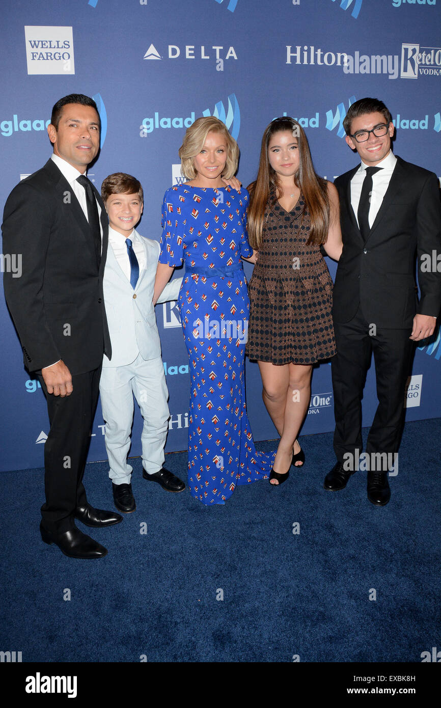 26th Annual GLAAD Media Awards - Arrivals Featuring: Mark