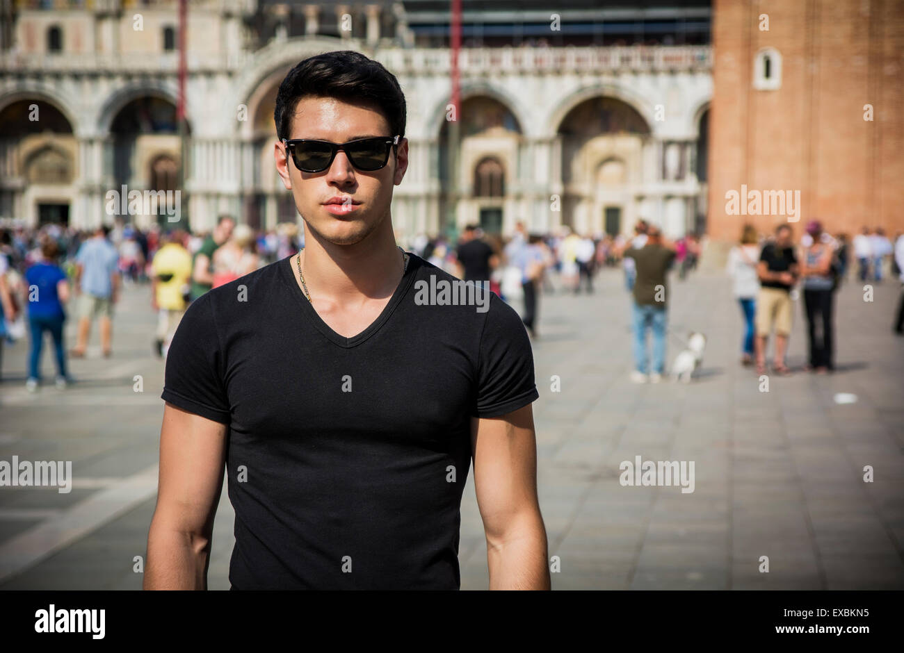 Married male looking in venice