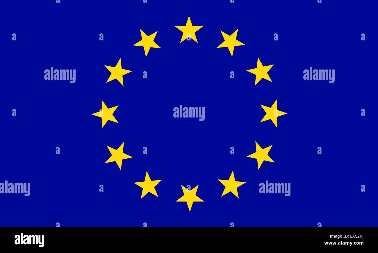 European Union flag - Stock Vector