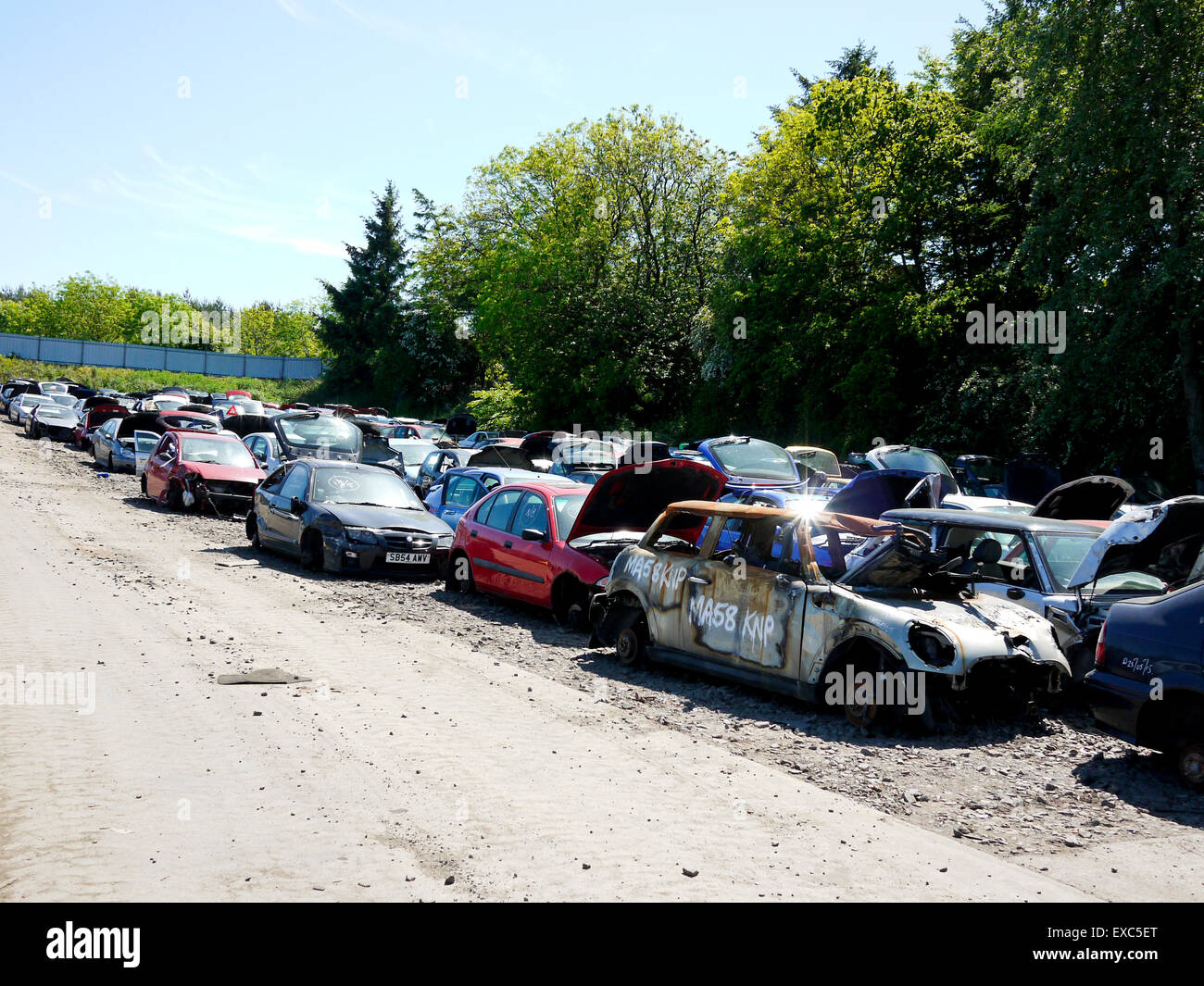 Vehicle Salvage Stock Photos & Vehicle Salvage Stock Images - Alamy