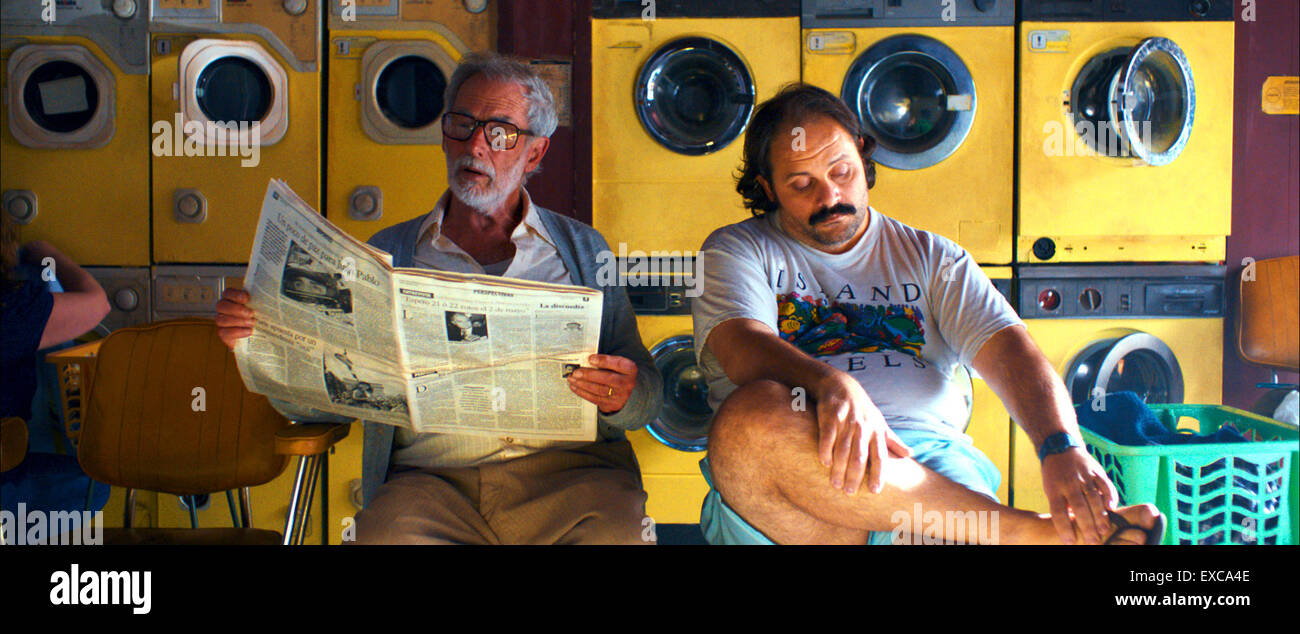 Mr. Kaplan is a 2014 Uruguayan comedy-drama film directed by Álvaro Brechner.  This photograph is for editorial - Stock Image