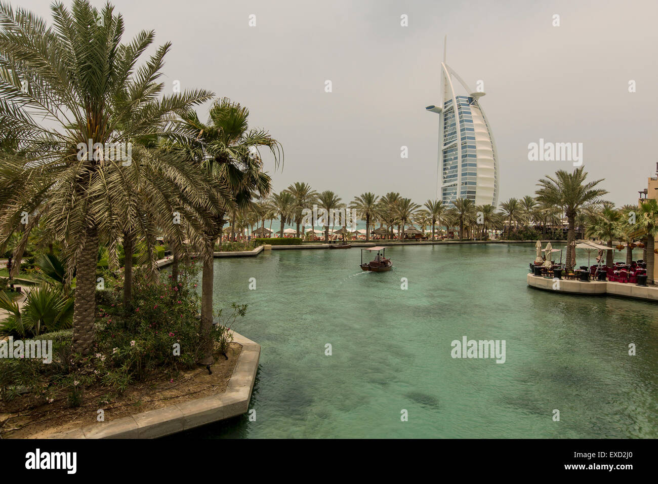 Madinat Jumeirah in Dubai. - Stock Image