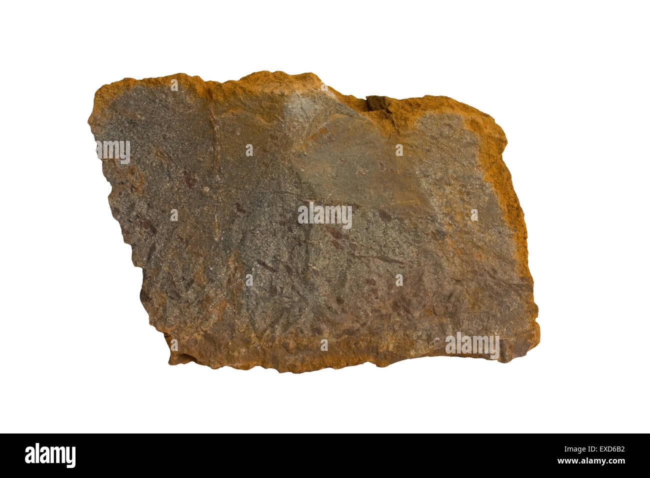 Carbonatite (variety rödbergite) - Stock Image