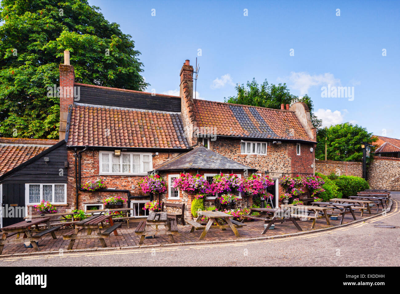 Established in 1241, the Adam and Eve Pub is probably the oldest in Norwich, Norfolk, England - Stock Image