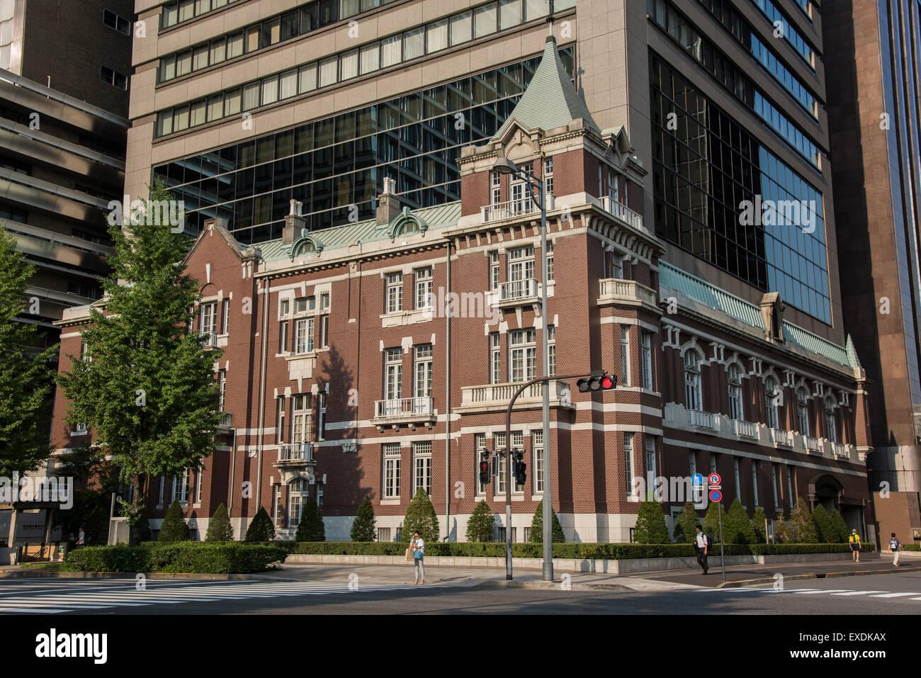The Bankers Club,Chiyoda-Ku,Tokyo,Japan - Stock Image