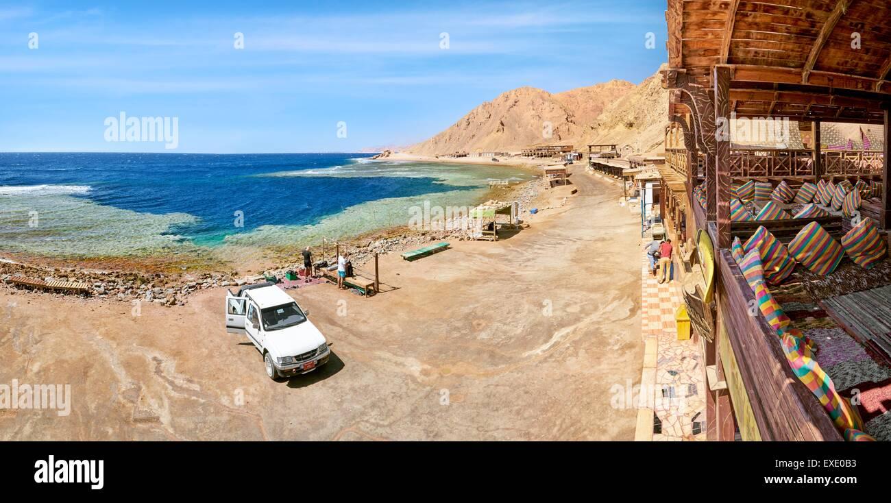 Blue Hole, Dahab, Red Sea, Egypt - Stock Image
