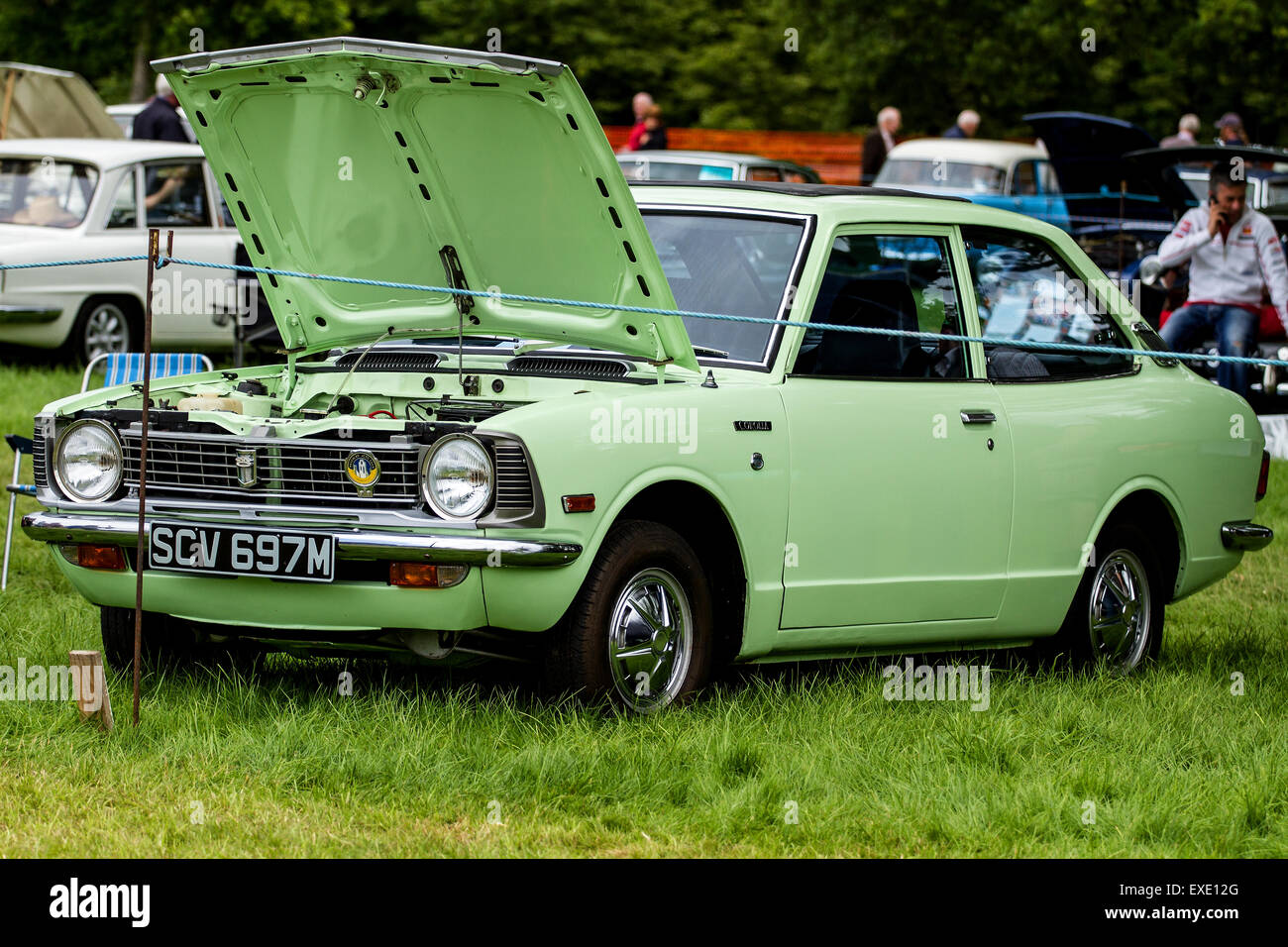 Glamis Scotland, UK. 12h July, 2015. Toyota Corolla at the 41st ...