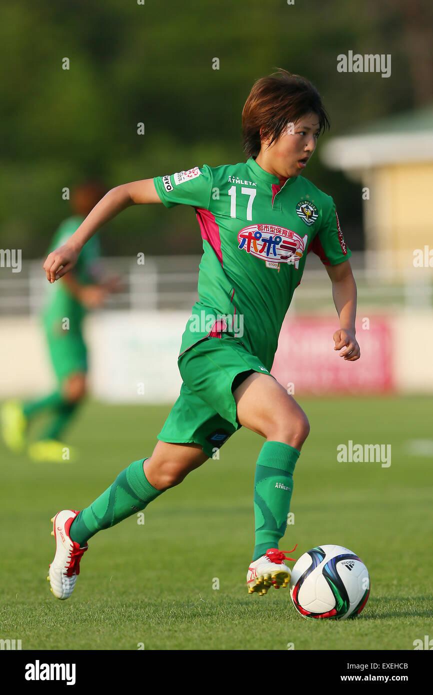 Rin Sumida (Beleza),  JULY 12, 2015 - Football / Soccer :  2015 Plenus Nadeshiko League Division 1  between NTV - Stock Image