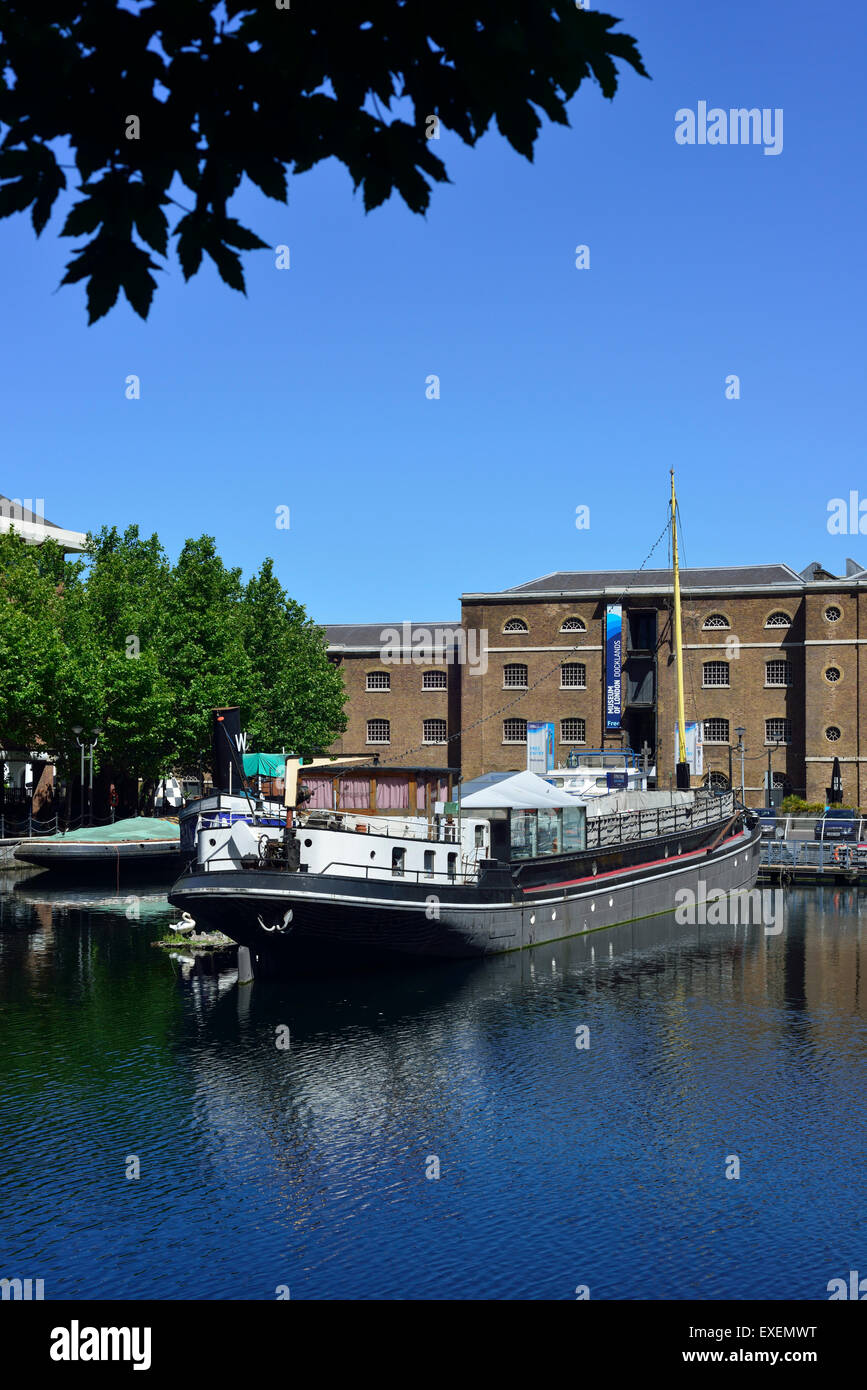 Museum of London Docklands, West India Quay,Canary Wharf Estate, Docklands, London E14, United Kingdom - Stock Image