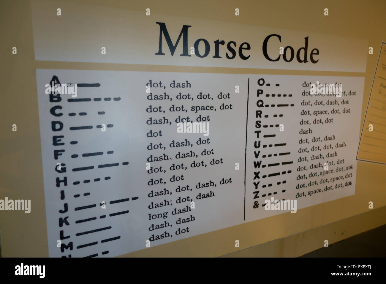 morse code dash at 20 dot at 60
