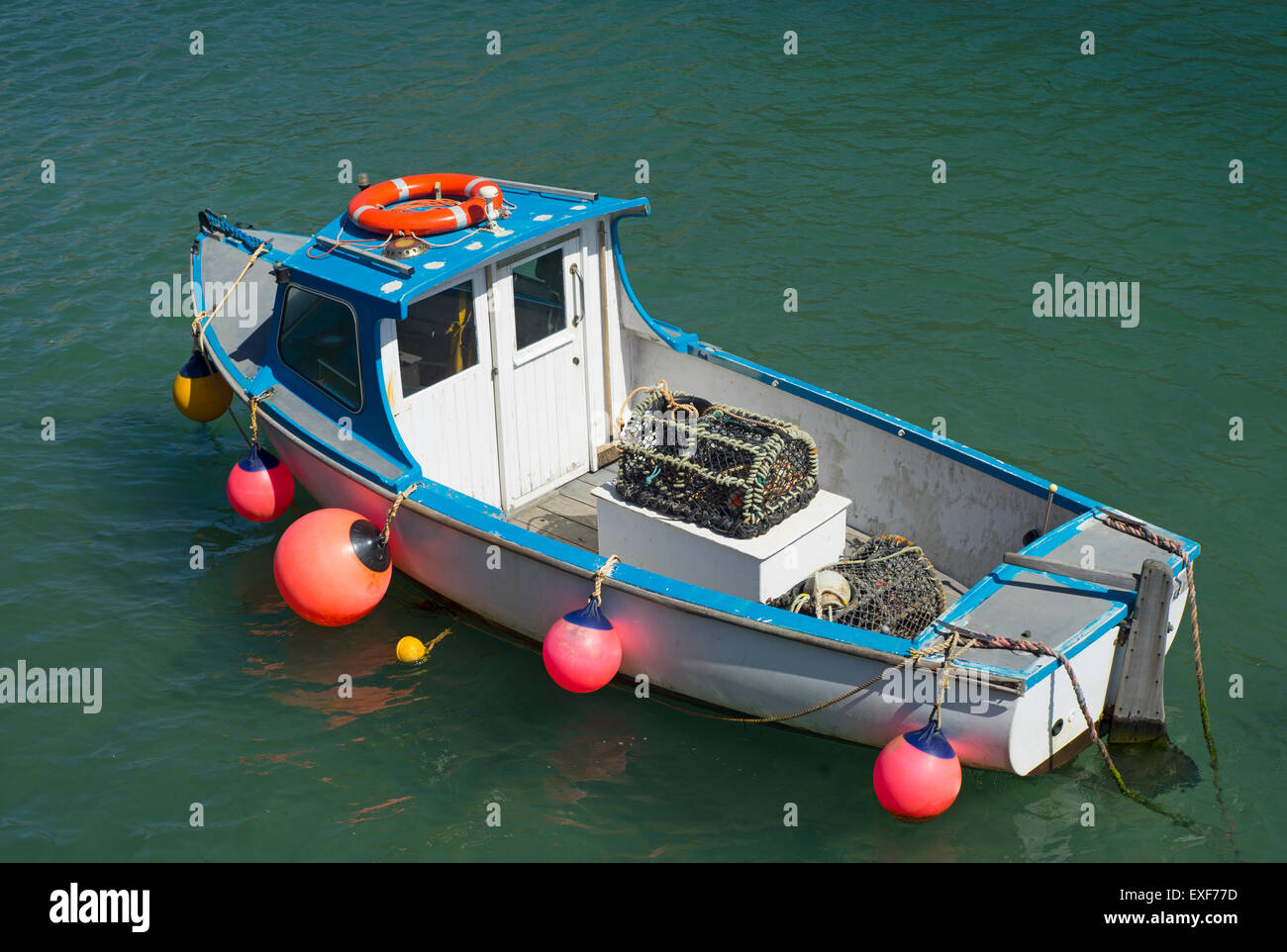 Fishing creel stock photos fishing creel stock images for Little fishing boats