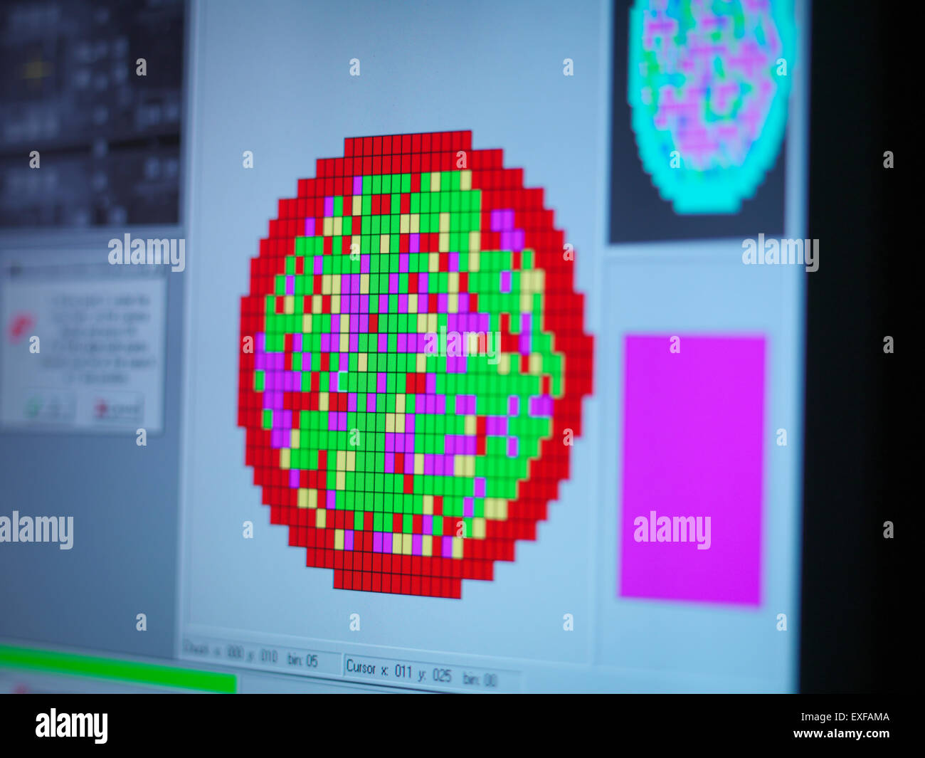 Integrated Circuit Wafer Mapping Not Lossing Wiring Diagram Circuits Design Silicon Stock Photos Images Alamy Rh Com Microchip Rfid
