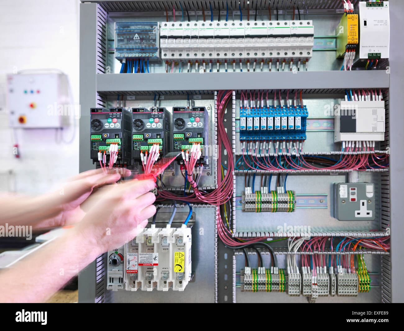Switch Board High Resolution Stock Photography And Images Alamy