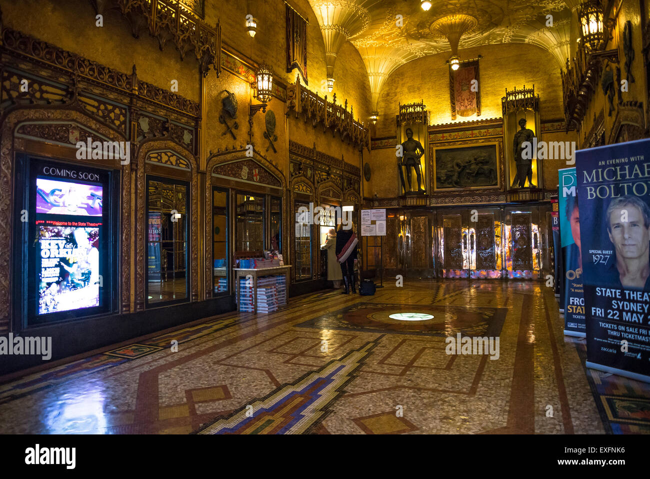 Western Foyer Box Office : Theatre box office stock photos