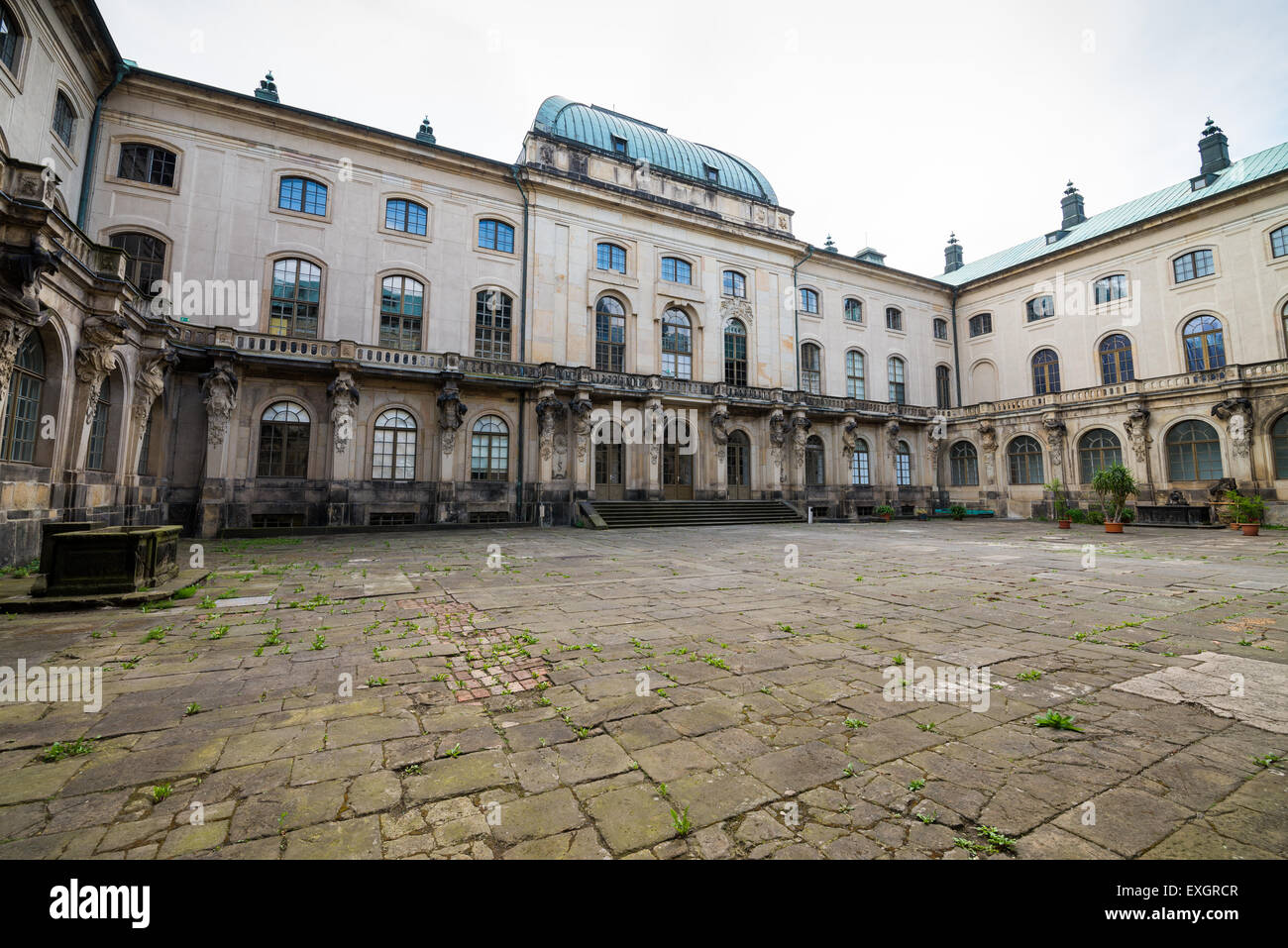 Japanisches Palais, Dresden, Saxonia, Germany, Europe - Stock Image