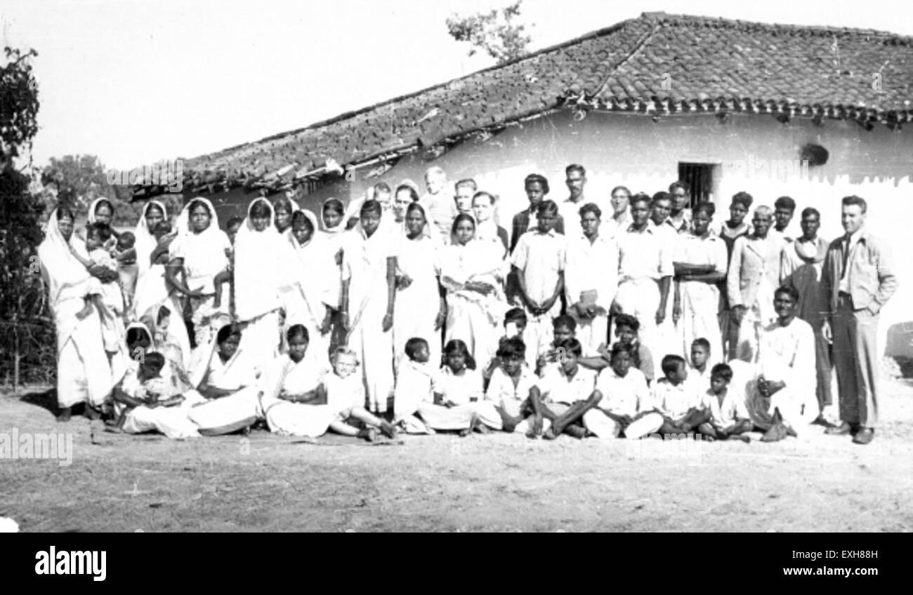 Christmas service, Chandwa, India, 1949 1 Stock Photo: 85202225 - Alamy