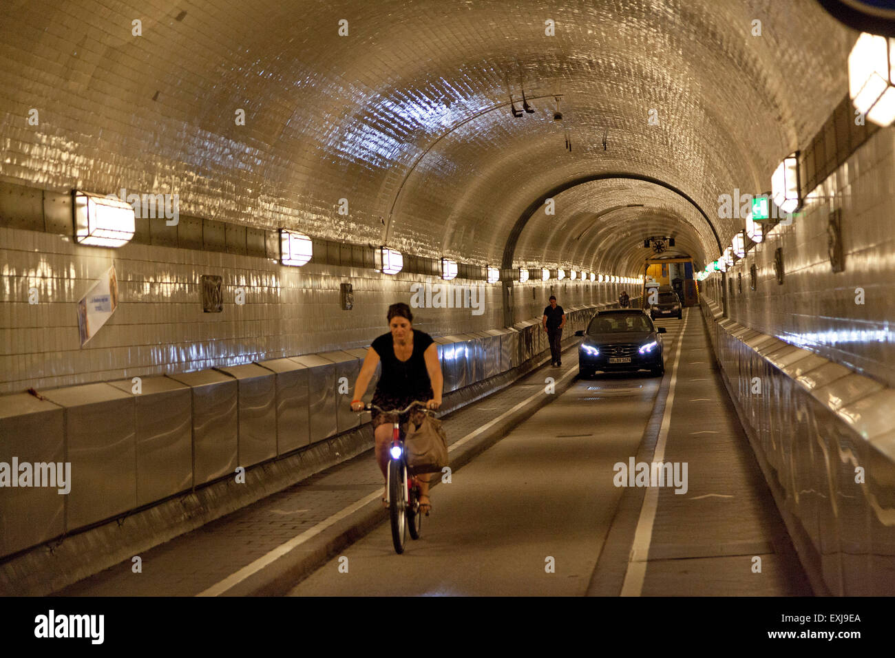 old elbe tunnel hamburg germany stock photo 85225122 alamy. Black Bedroom Furniture Sets. Home Design Ideas