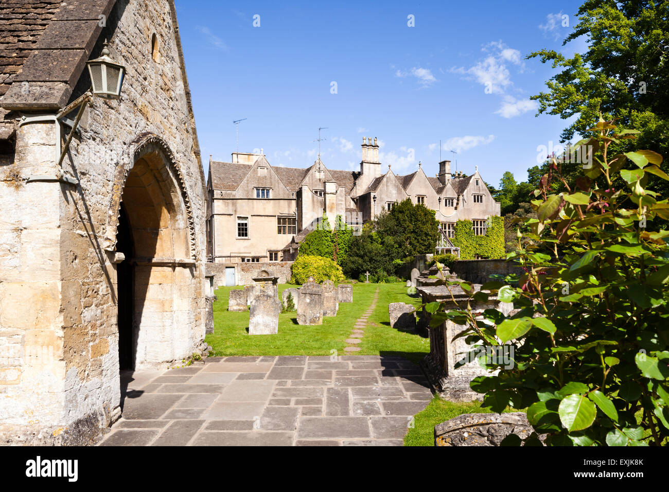 Astounding Bibury Court Stock Photos Bibury Court Stock Images Alamy Download Free Architecture Designs Lukepmadebymaigaardcom