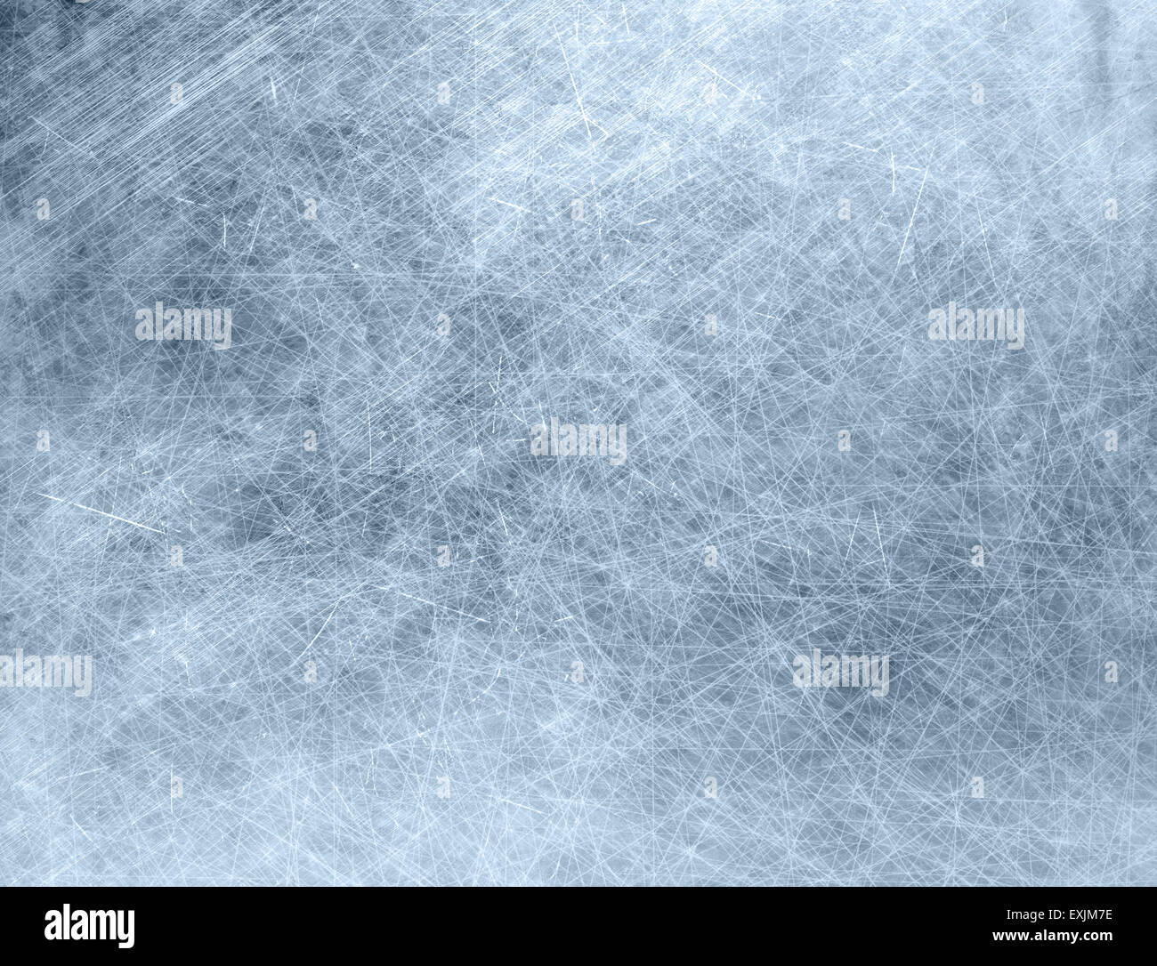 Metal grunge texture background, stained and scratched - Stock Image