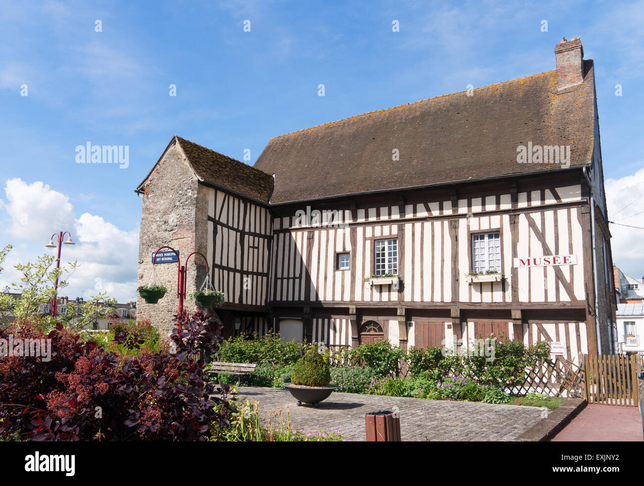 Museum of Mathon Durand at Neufchatel en Bray, Seine-Maritime, Normandy, France - Stock Image