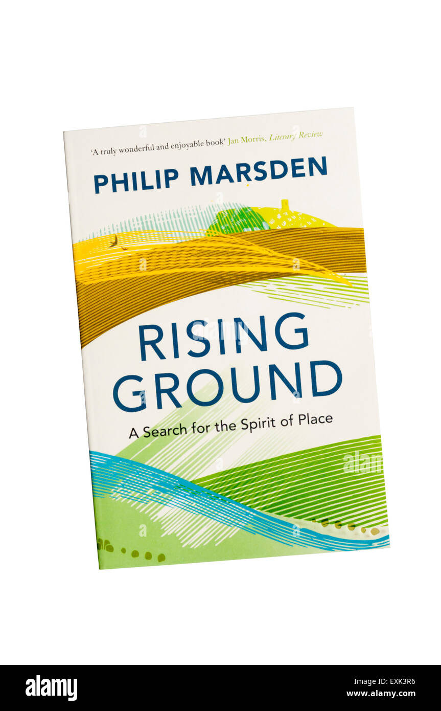 Paperback copy of Rising Ground by Philip Marsden published by Granta in 2008. - Stock Image