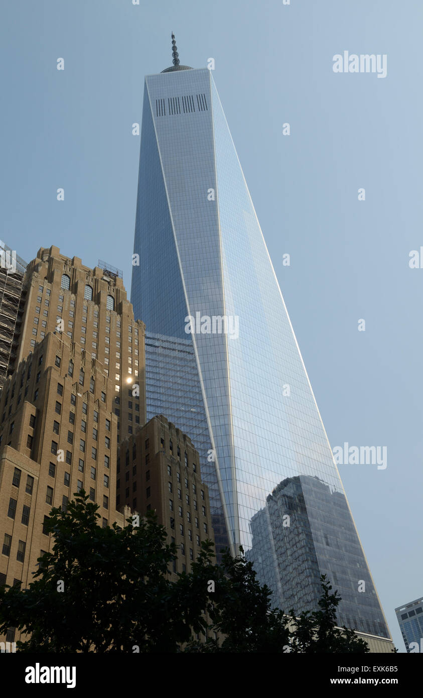 One World Trade Center, New York City - Stock Image