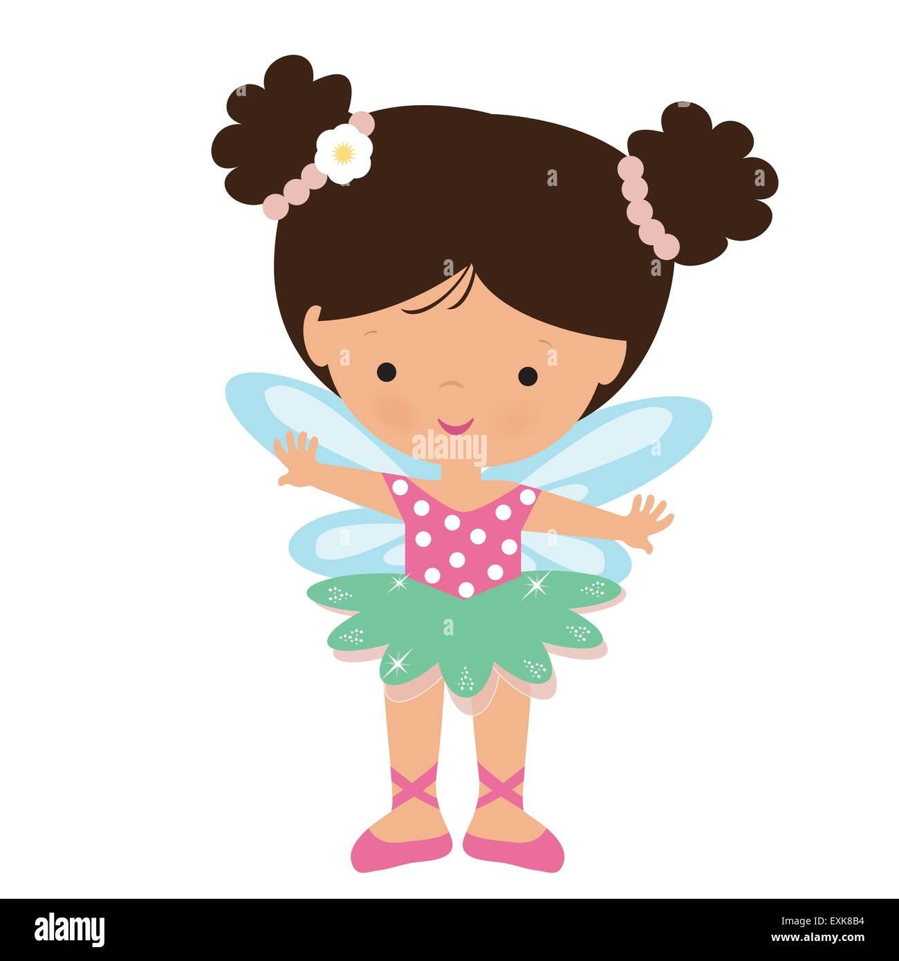 Garden Cute Cartoon: Fairy,garden Fairy,cute,girl,little,vector,cartoon