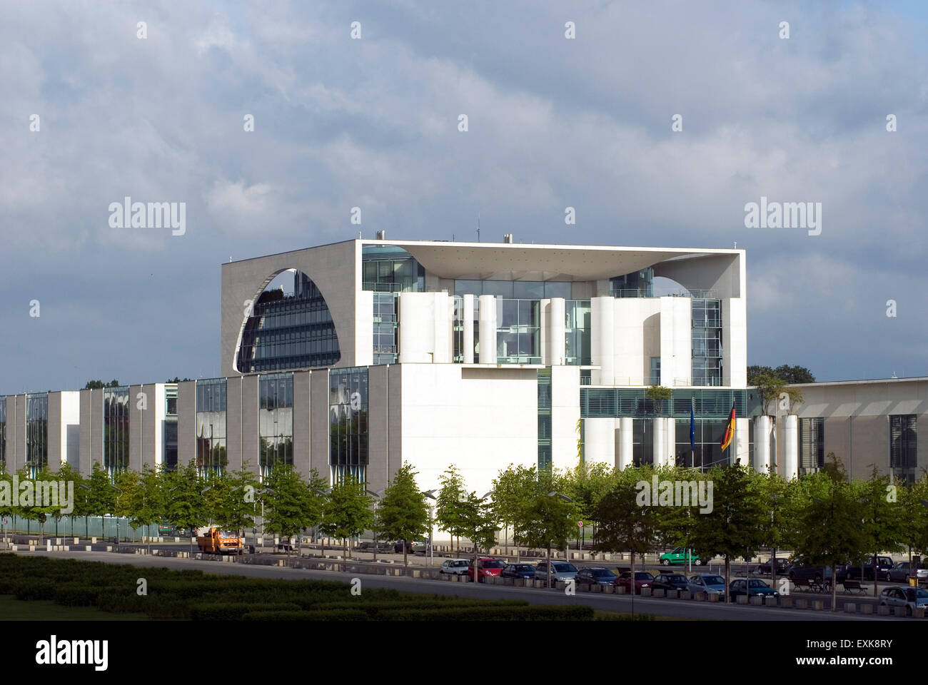Federal Chancellor Building  Berlin Germany Europe - Stock Image