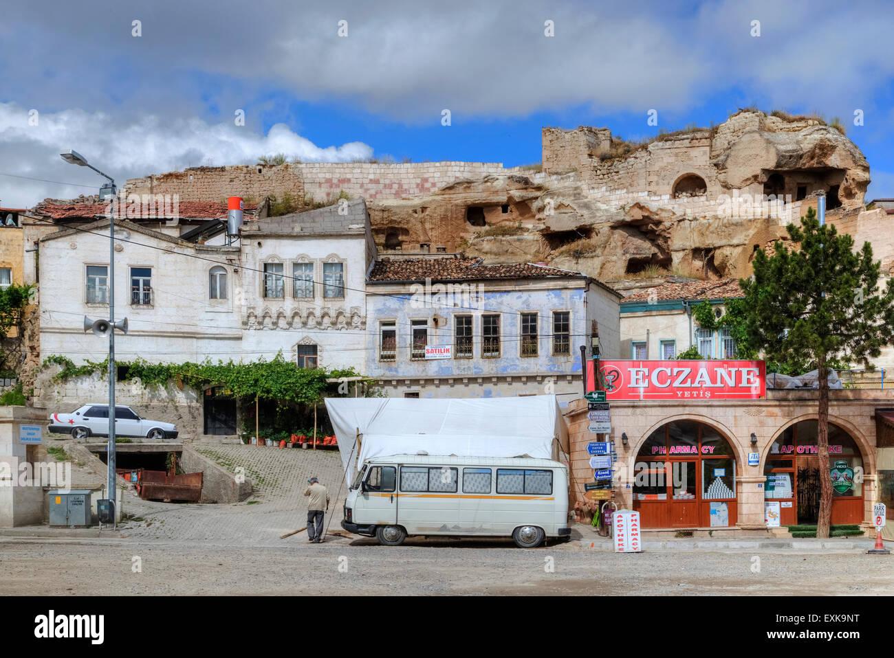 Mustafapasa, Urgup, Cappadocia, Anatolia, Turkey - Stock Image