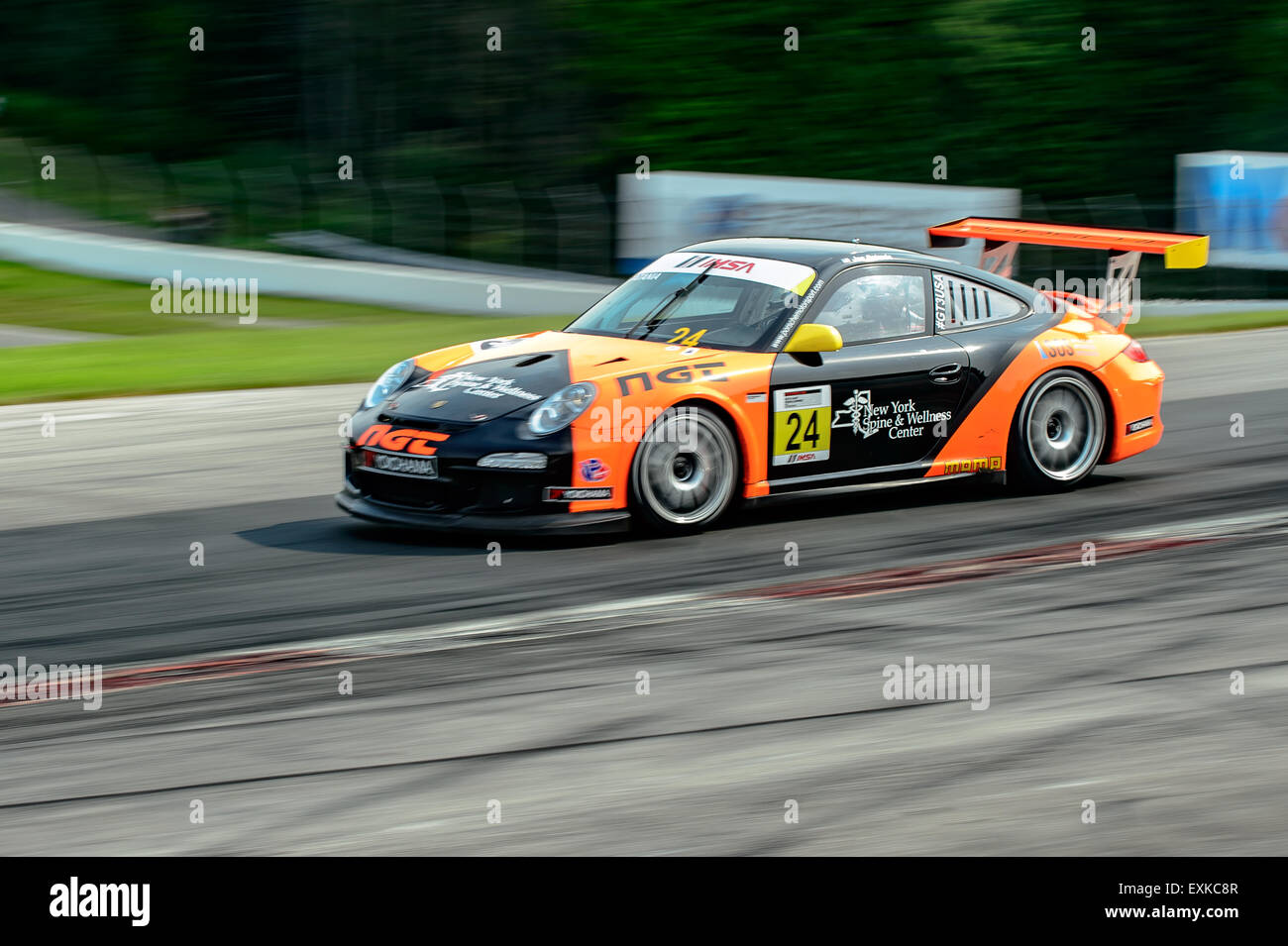 Bowmanville, CAN., 12 Jul 2015 - at the Mobil 1 SportsCar Grand Prix at Canadian Tire Motorsport Park - Mosport Stock Photo