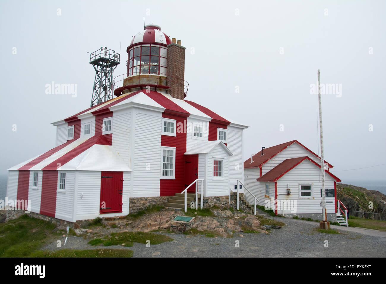 Cape Bonavista Lighthouse. - Stock Image