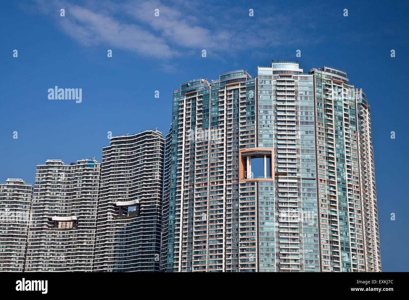 Upmarket residential building - Stock Image