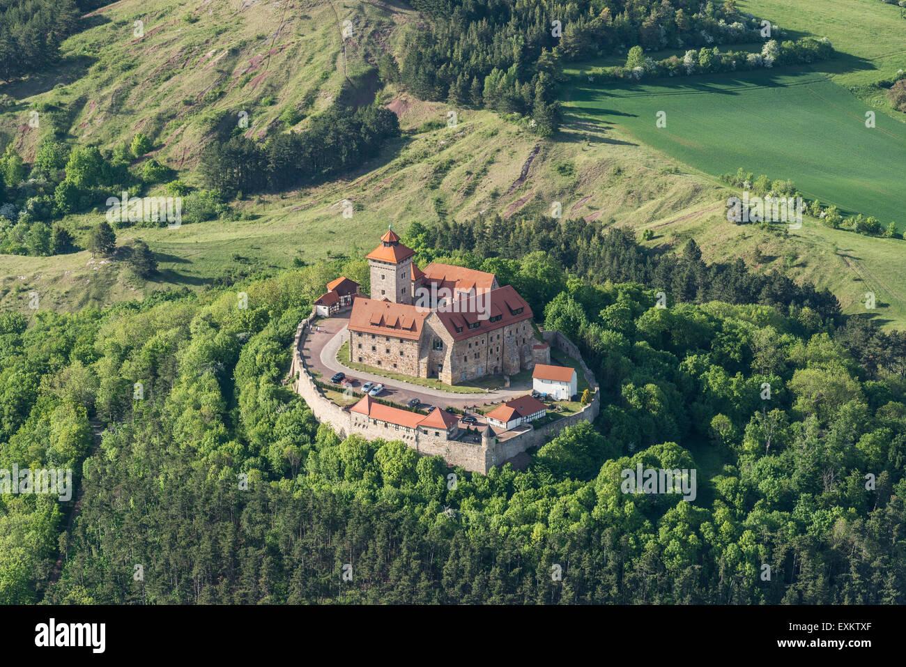 Wachsenburg Castle, Thuringia, Germany - Stock Image