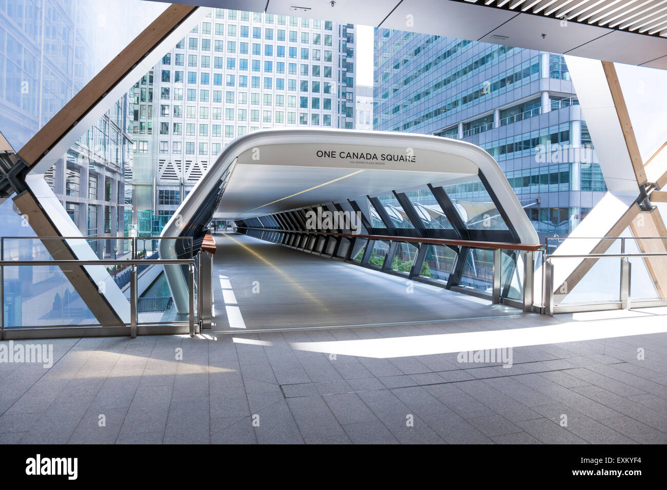 New Canary Wharf Crossrail Station With Shopping Centre