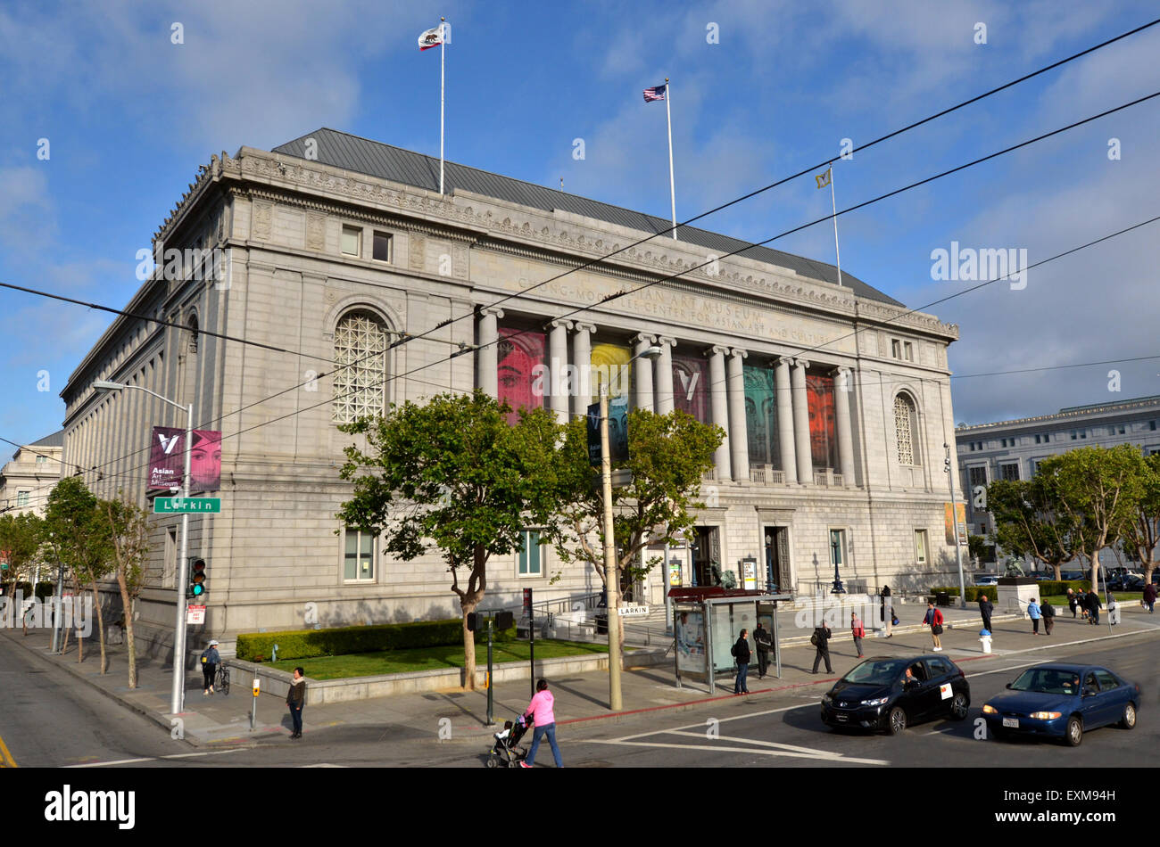 SAN FRANCISCO, USA - MAY 19 2015:Asian Art Museum of San Francisco California.t has one of the most comprehensive - Stock Image