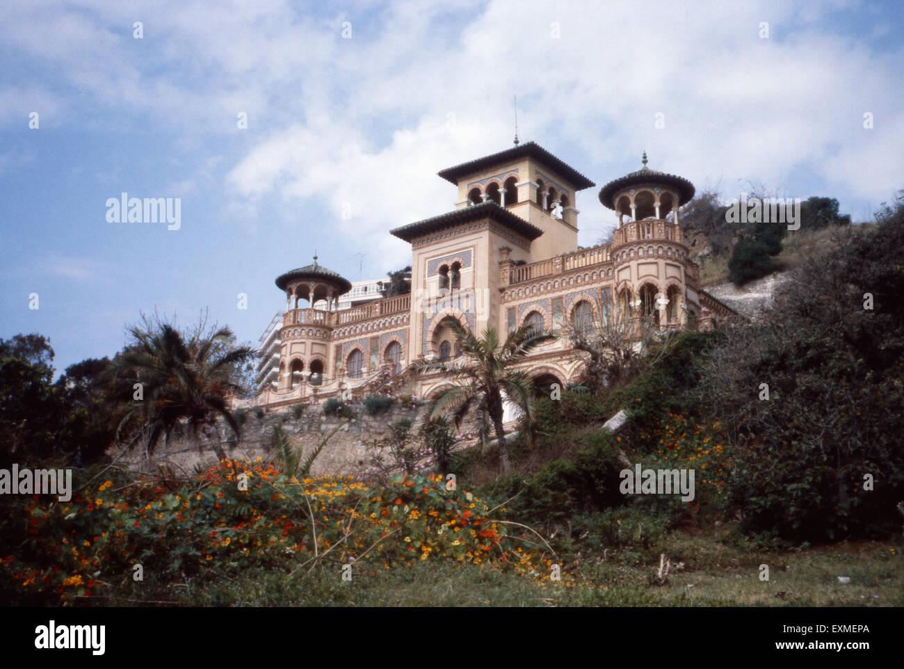 Ein Haus Im Arabischen Stil In Torremolinos An Der Costa Del Sol