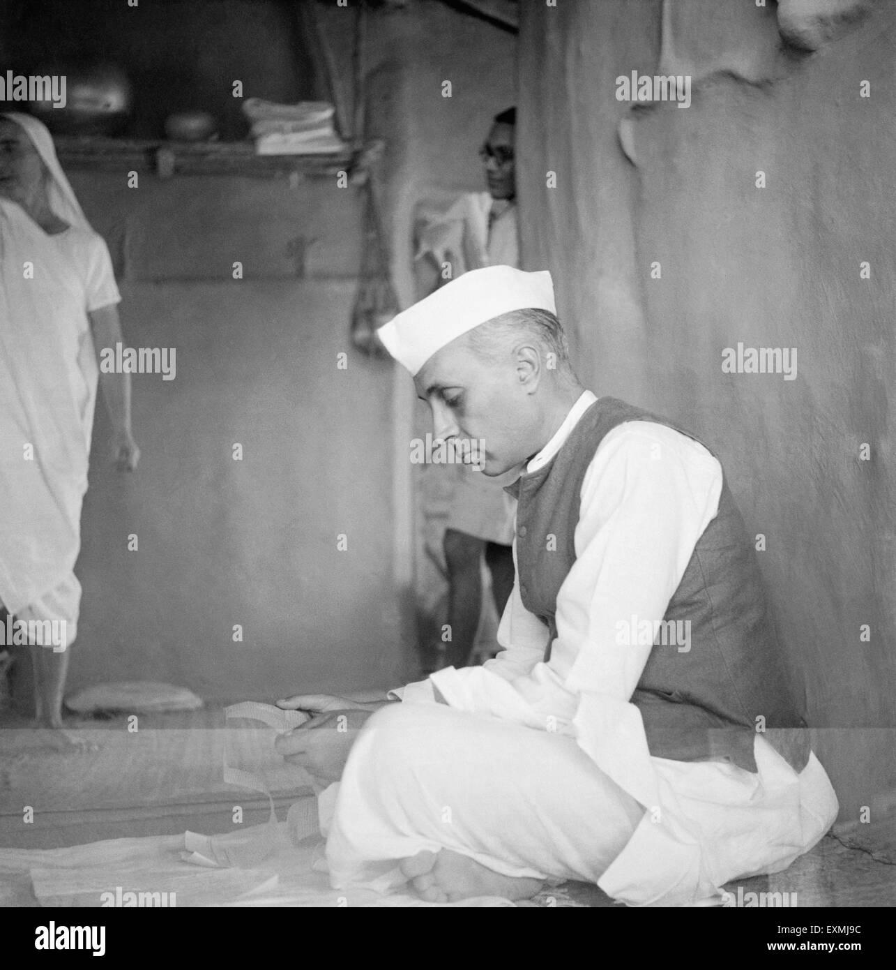 Pandit Jawaharlal Nehru NO MR - Stock Image