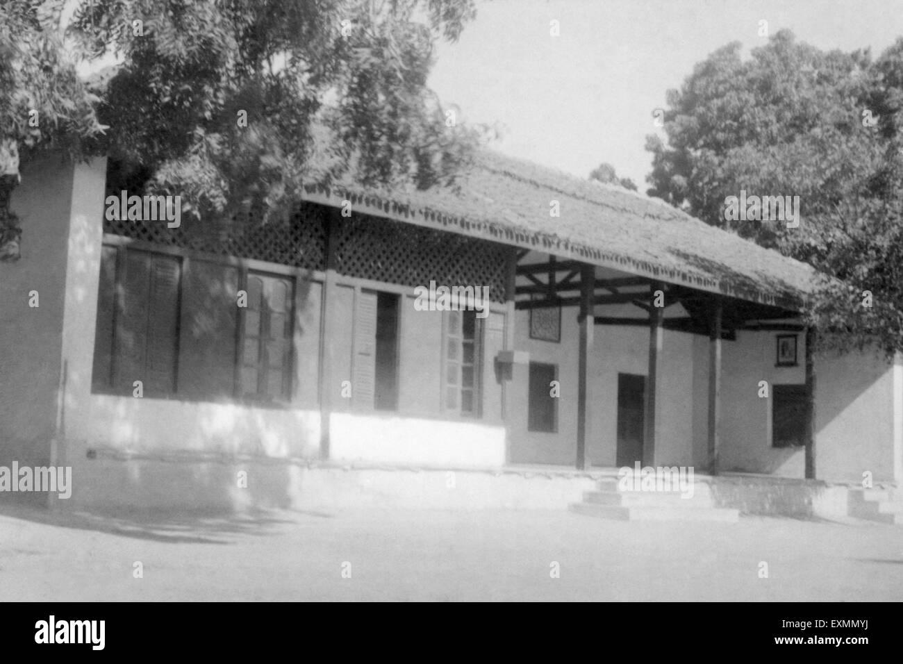 Mahatma Gandhi Satyagraha Ashram Ahmedabad india - Stock Image