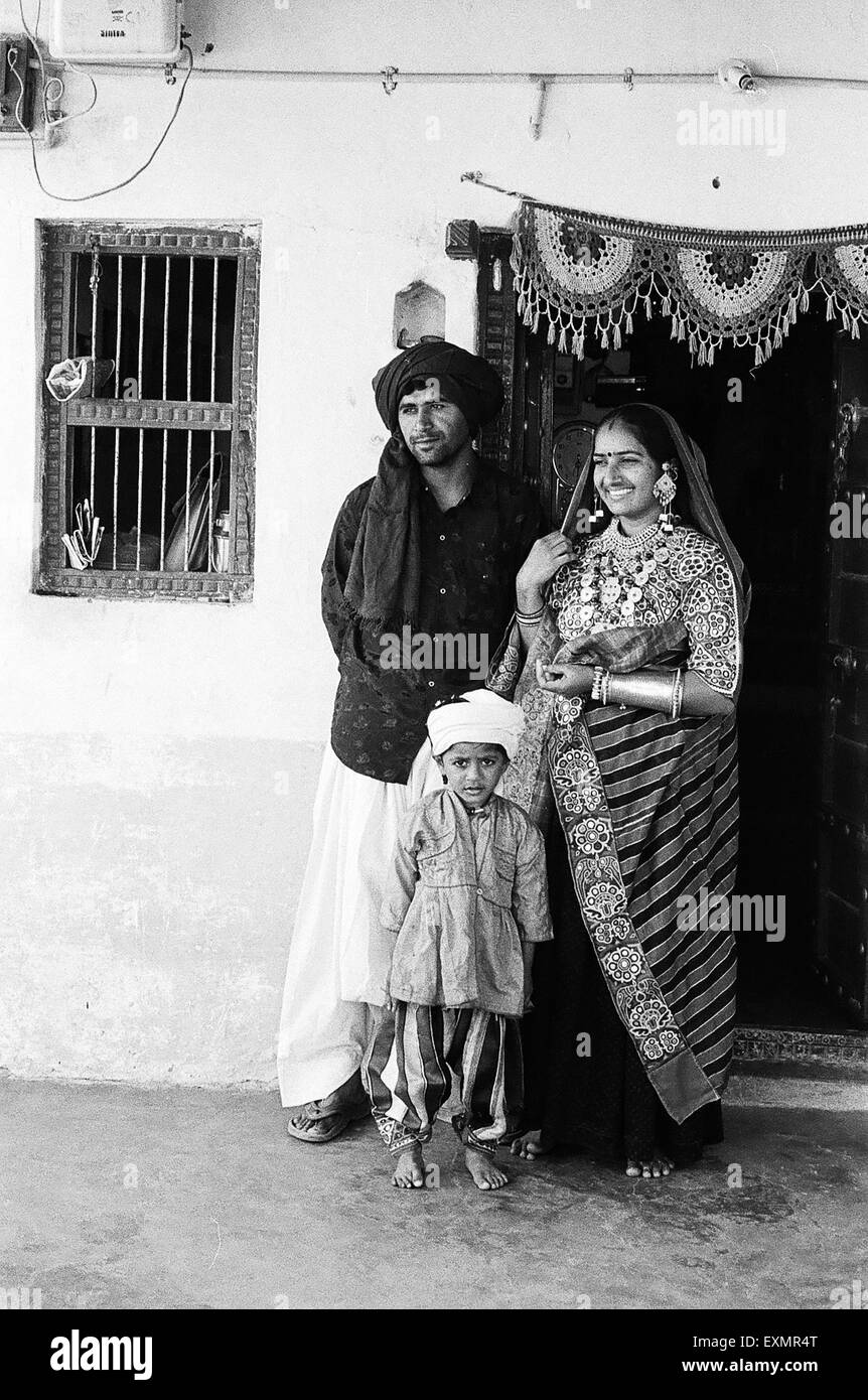 Indian Village Children Black And White Stock Photos Images Alamy