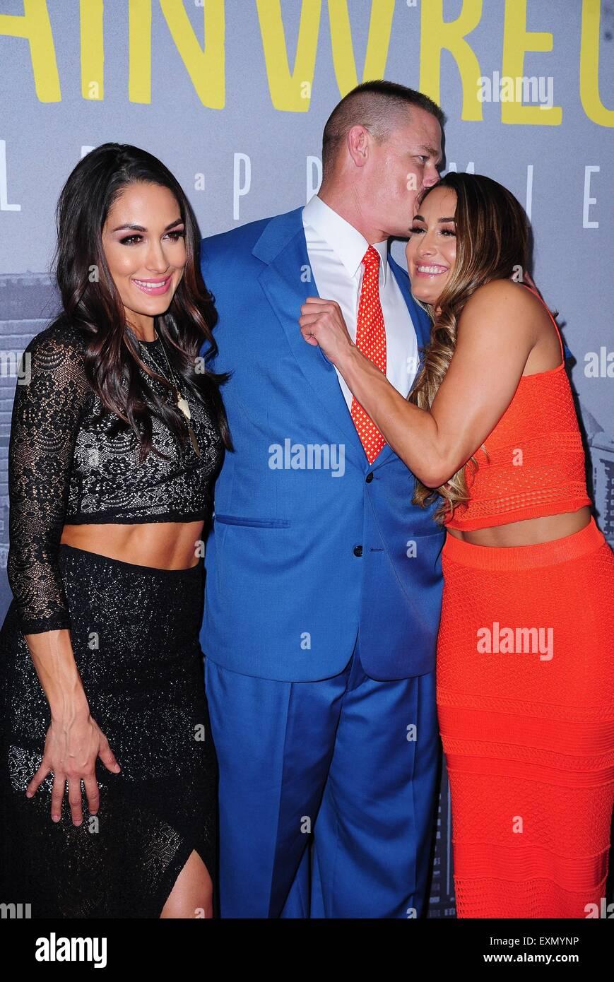 Nikki Bella And John Cena Stock Photos & Nikki Bella And John Cena ...