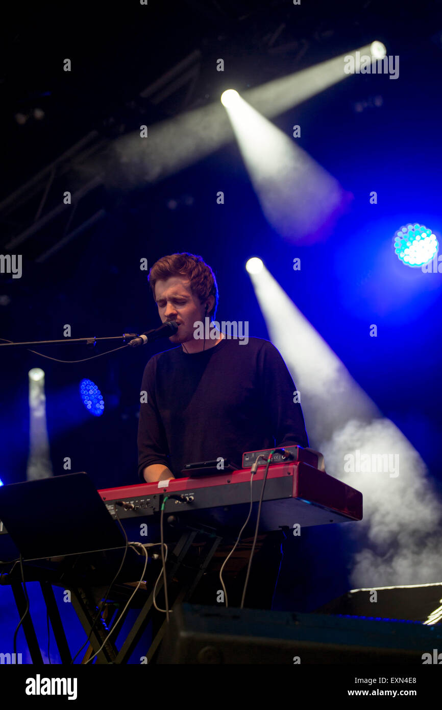 London, UK 15th July 2015. Aquilo, Summer Series, Somerset House. Credit:  Robert Stainforth/Alamy Live News Live Stock Photo