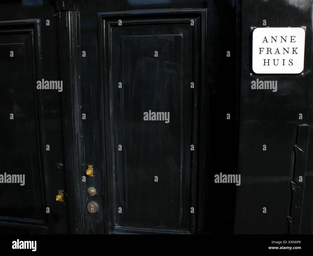 Door of Anne Frank\u0027s house Amsterdam Netherlands - Stock Image & Anne Franks Diary Stock Photos \u0026 Anne Franks Diary Stock Images - Alamy