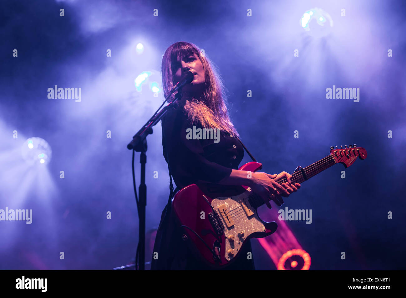 London, UK 15th July 2015. Angus & Julia Stone, Summer Series, Somerset House. Credit:  Robert Stainforth/Alamy Stock Photo