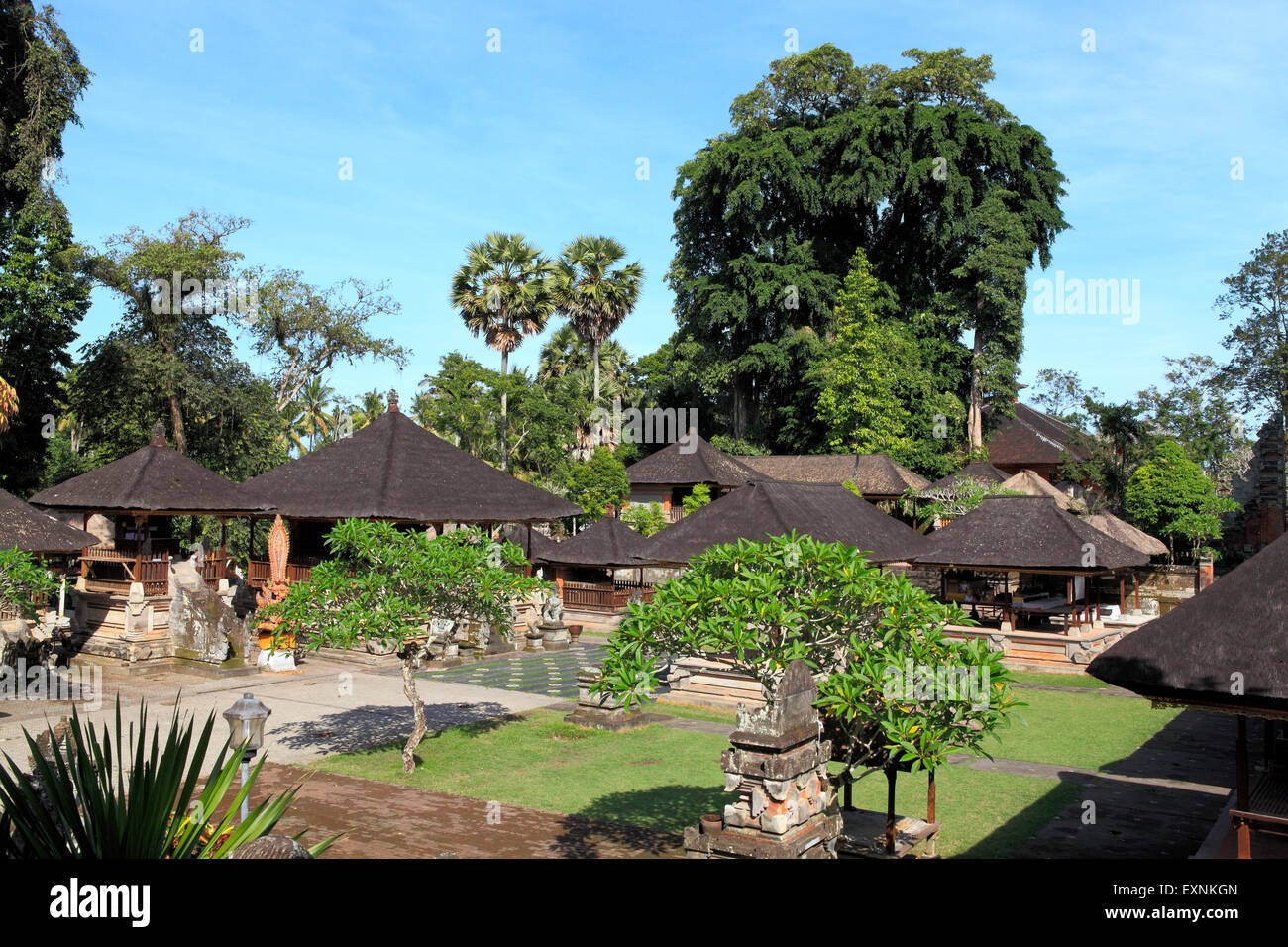 Pura Samuan Tiga temple, Bedulu, Ubud, Bali, Indonesia - Stock Image