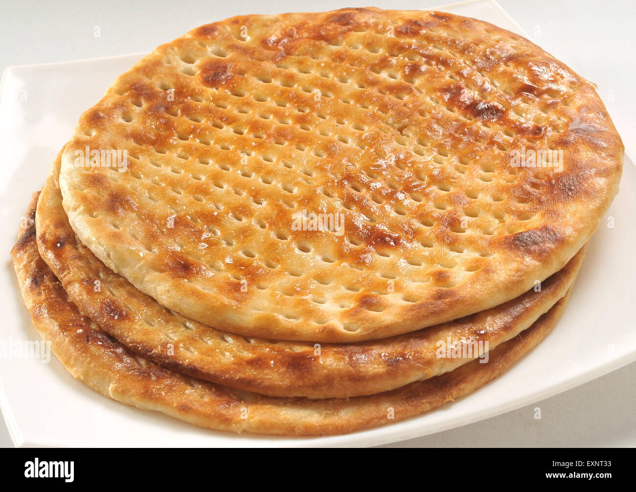 Sheermal Pakistani And Indian Flat Bread Stock Photo