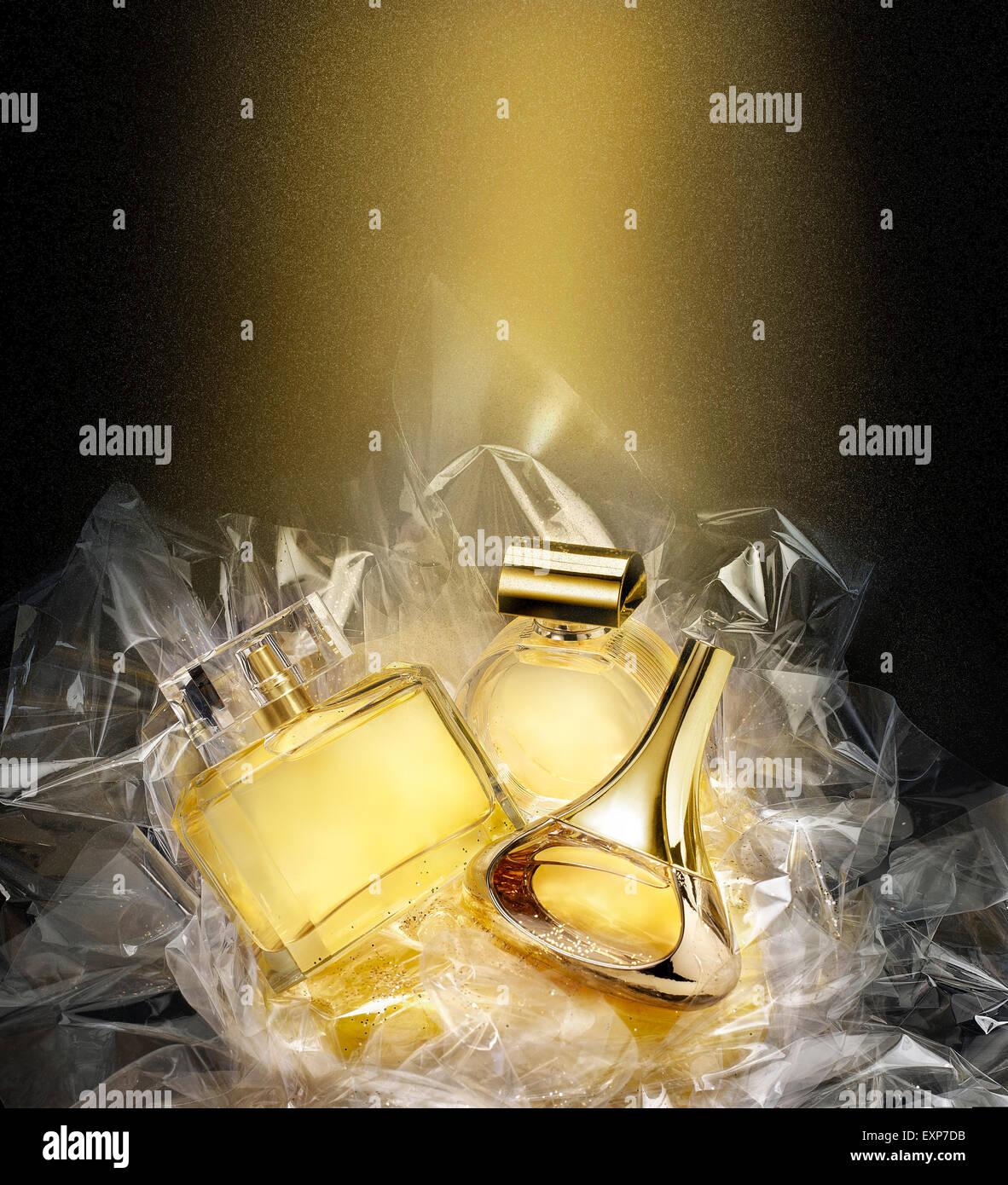 Fine Fragrances In A Concept Gift Set Christmas Fantasy Environment Stock Photo Alamy