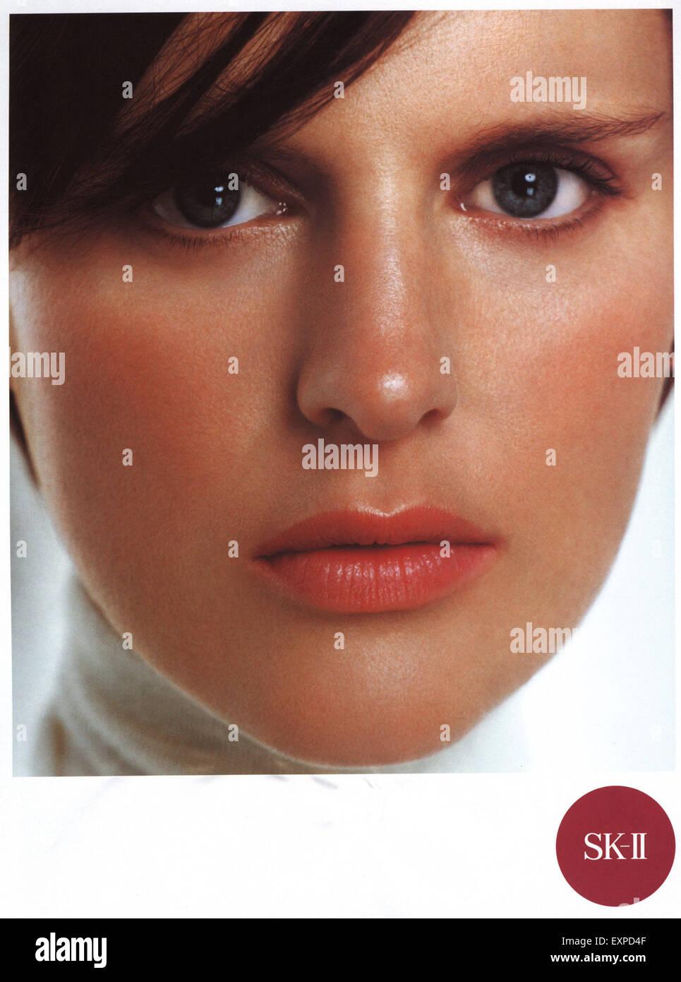 2000s UK Sk-II Magazine Advert - Stock Image